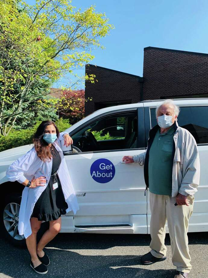 GetAbout New Canaan has been helping Meals on Wheels of New Canaan deliver meals to their clients for the last month. Photo: Meals On Wheels Of New Canaan / Contributed Photo