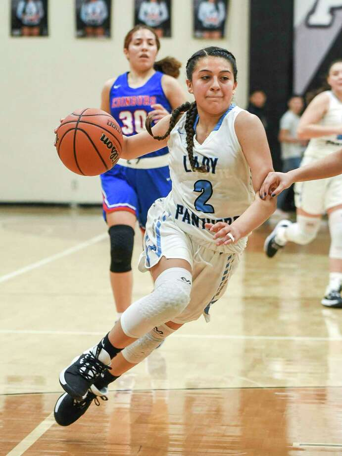 Angie Lopez and the Lady Panthers play state-ranked Cibolo Steele on Monday. Photo: Danny Zaragoza /Laredo Morning Times File / Laredo Morning Times