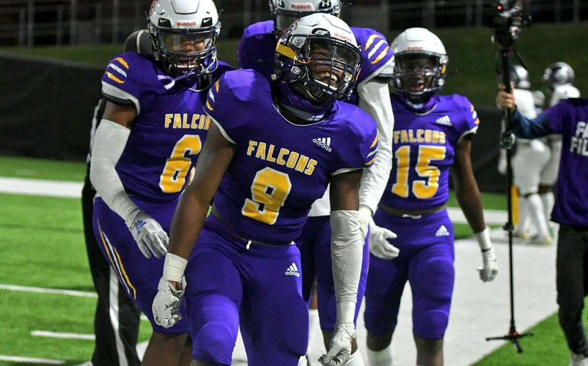 Jersey Village shutout Spring Woods 35-0 to move 3-2 in District 17-6A with three weeks left, Nov. 5, at Tully Stadium.