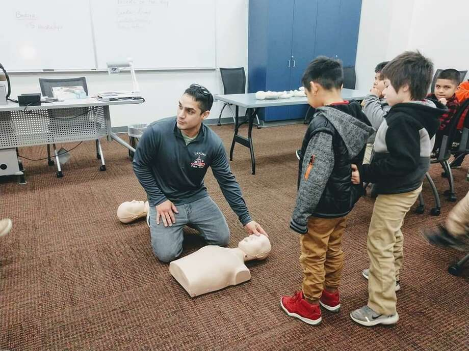 Little Medical School engages young children in the idea of one day becoming health care professionals. Photo: Courtesy