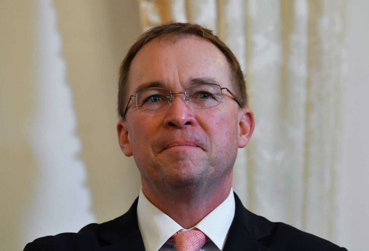 Former acting White House Chief of Staff Mick Mulvaney participated in a panel discussion Monday, Nov. 9, 2020 during the online Greenwich Economic Forum.