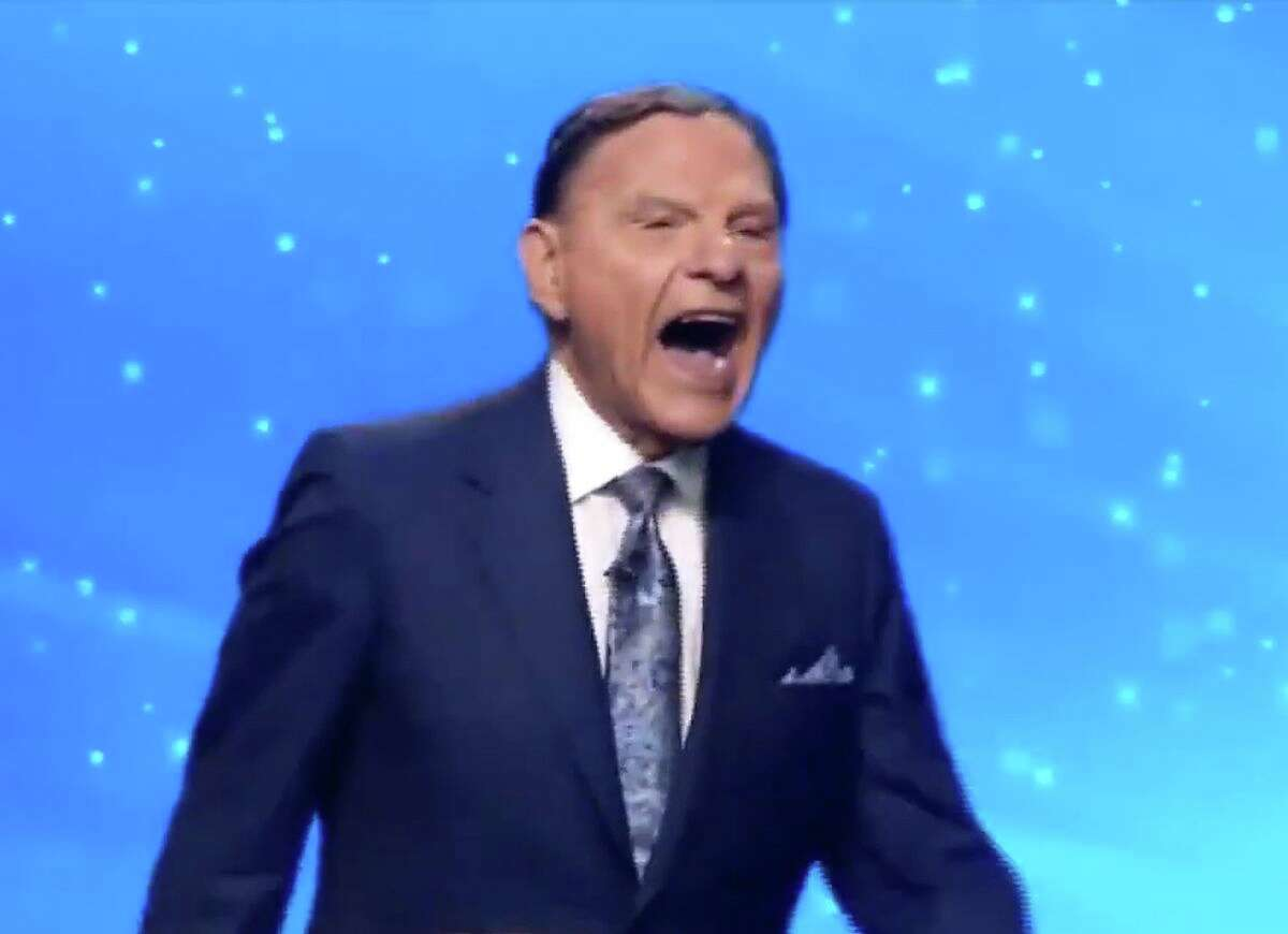 Kenneth Copeland laughs hysterically about Joe Biden winning the presidential election.