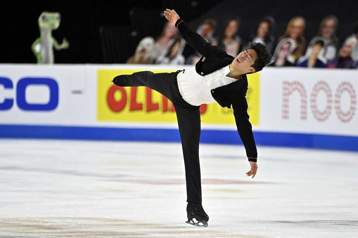 Nathan Chen will pursue a fifth consecutive national title in Las Vegas in January after the championships were moved from San Jose.