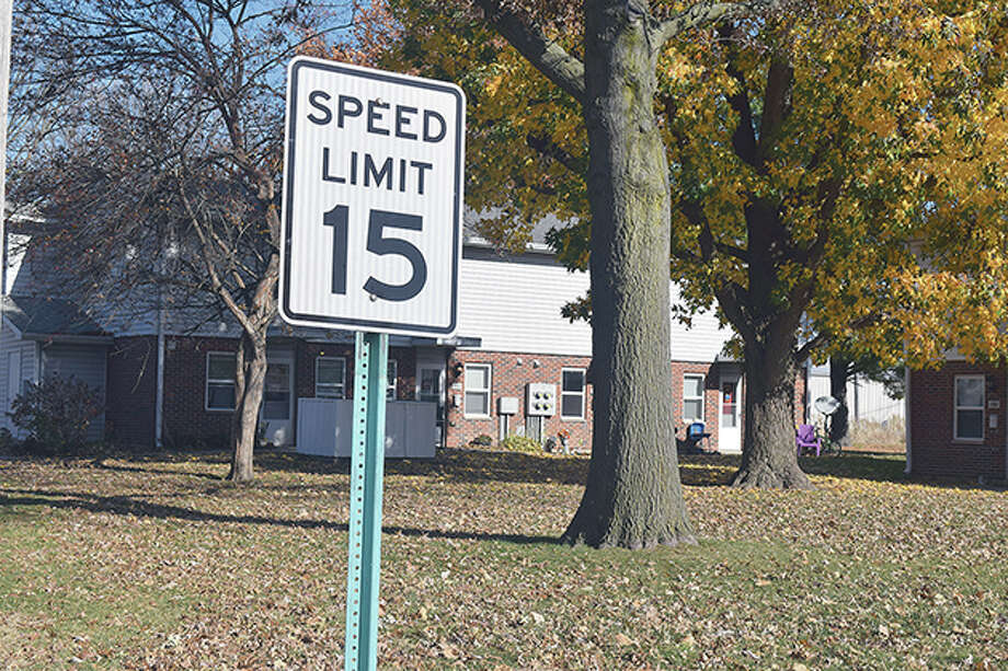 Speed limit change in South Jacksonville. Photo: Samantha McDaniel-Ogletree | Journal-Courier