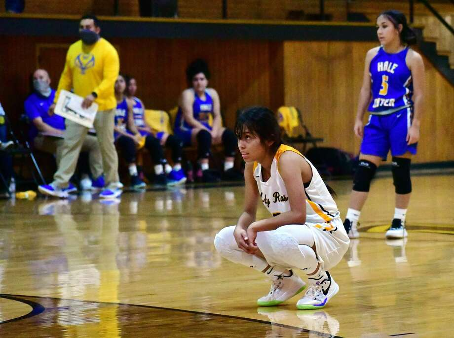 Sophomore Natacia Saldana is one of the key pieces to the Kress girls basketball team's attempt to reconfigure the program's expectations. Photo: Nathan Giese/Planview Herald