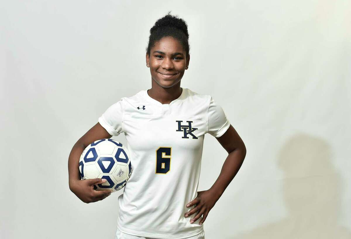 New Haven, Connecticut - Tuesday, November 26, 2019: Name: Kedarjah Lewis All Area: Soccer School: Haddam-Killingworth HS