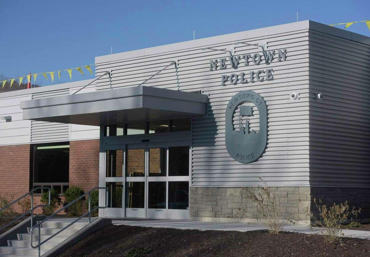 New Newtown Police headquarters, 191 S. Main Street, Newtown, Conn. Monday, November 9, 2020.