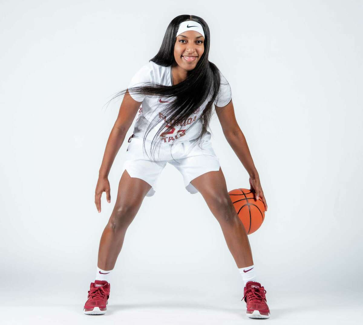 Redshirt senior guard Tiana England of Florida State, 2020-2021 women's basketball season.
