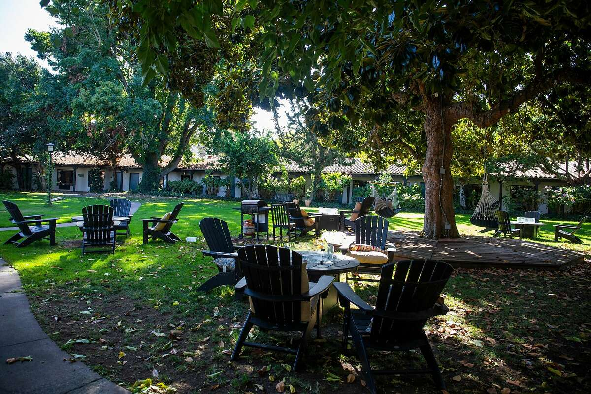 The Inn Marin Hotel in Novato, a proposed site for a permanent Roomkey project conversion, has an outdoor space, social services nearby and access to public transportation.