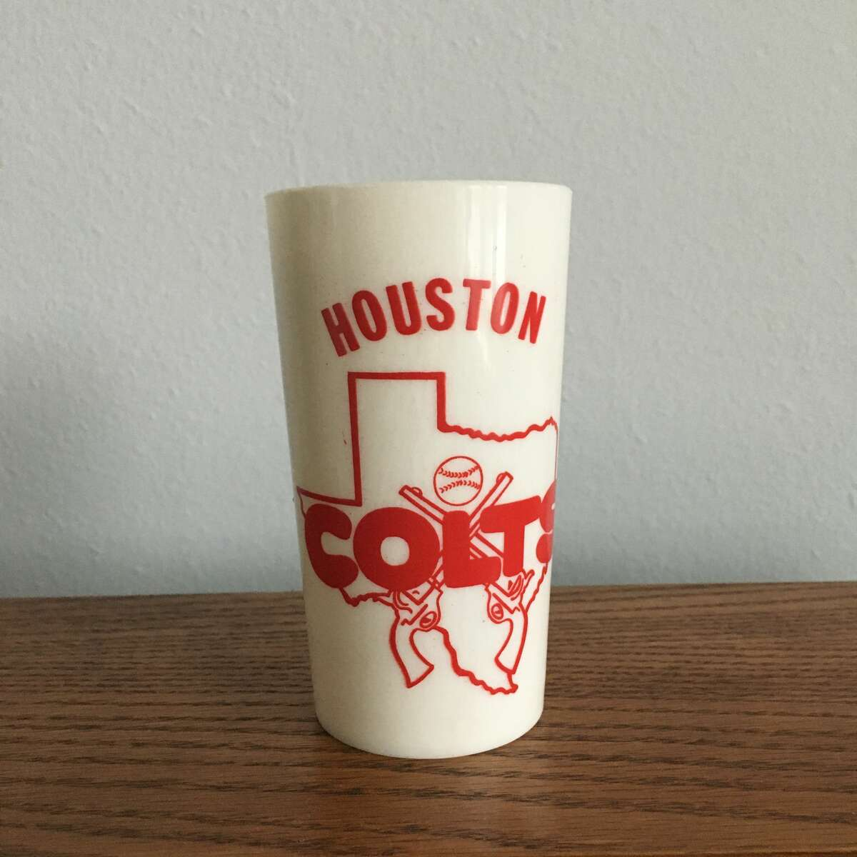 Joshua Ojeda's most expensive snag is this four-inch Houston Colts cup from a Pennsylvania seller.