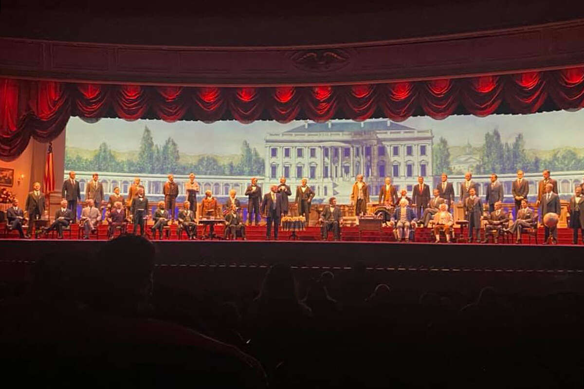 The current Hall of Presidents show at Walt Disney World in Orlando, Fla.