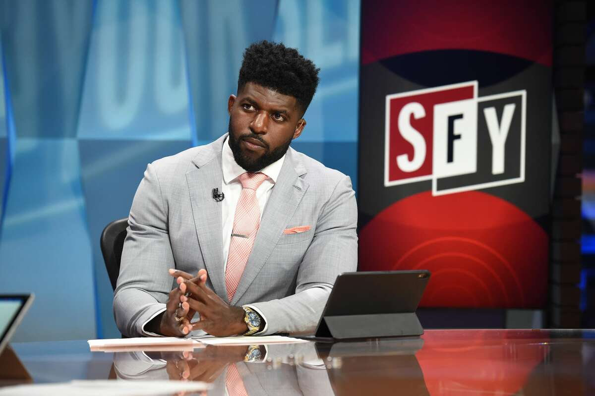 Emmanuel Acho, the former Texas and NFL linebacker, has made a rapid ascent in sports media, going from the Longhorn Network to co-hosting a debate show on FS1.
