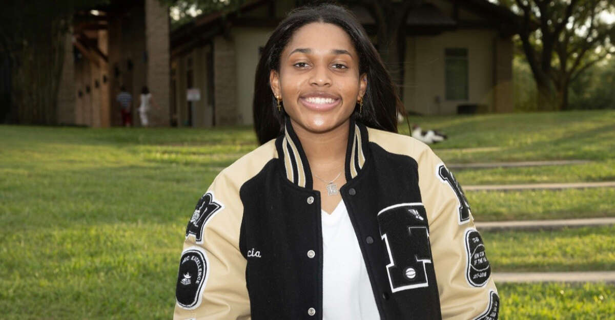 Foster basketball player Alicia Blanton is the girls athlete of the week.