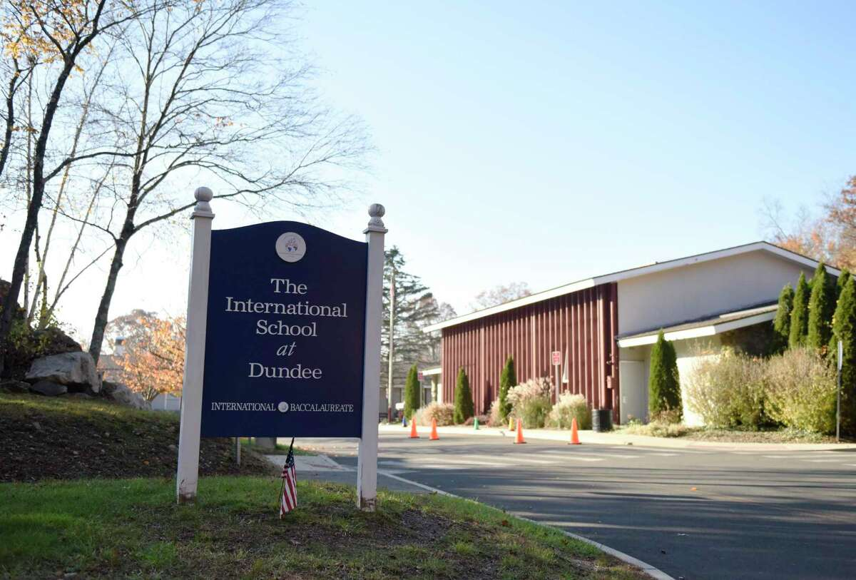 The International School at Dundee in the Riverside section of Greenwich, Conn., photographed on Monday, Nov. 9, 2020.