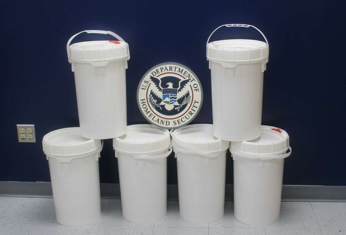 U.S. Customs and Border Protection officers said they seized 149.12 pounds of meth at the Colombia-Solidarity International Bridge. The contraband had an estimated street value of $2,982,382.