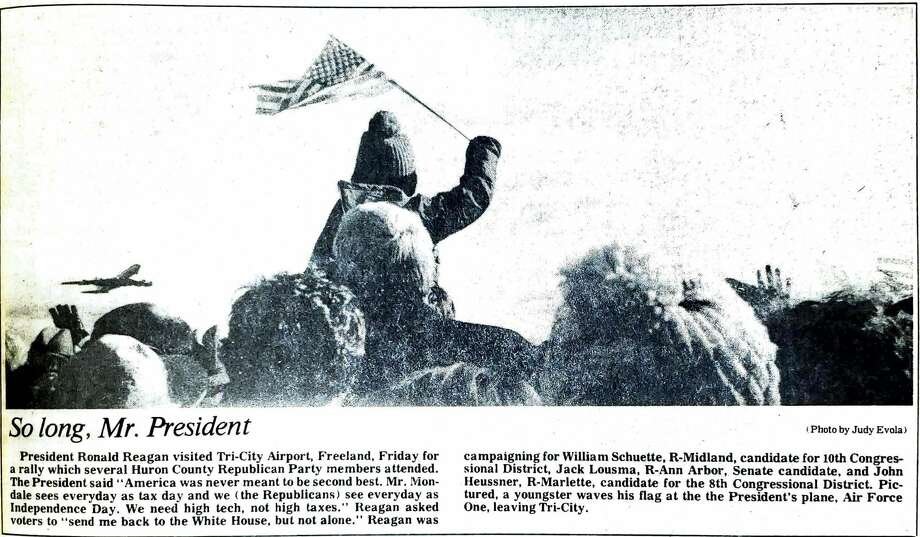 For this week's Tribune Throwback we take a look in the archives from November 1984. Photo: Tribune File Photo