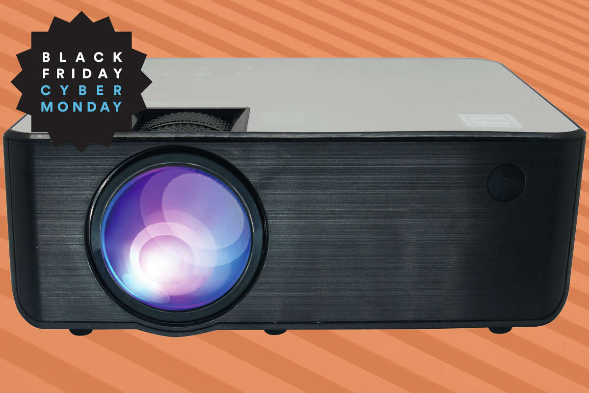 RCA 720p Home Theater Projector with Roku Stick for Special Value Buy.