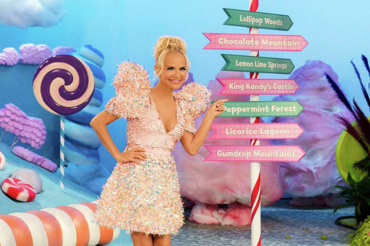 Actress Kristin Chenoweth is the host of the new Food Network show