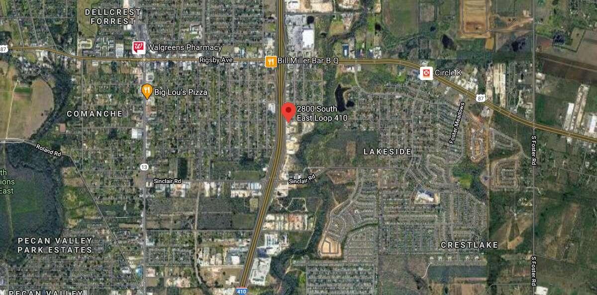 A man was killed crossing the highway near the 2800 block of SE Loop 410 Monday night, San Antonio police said.