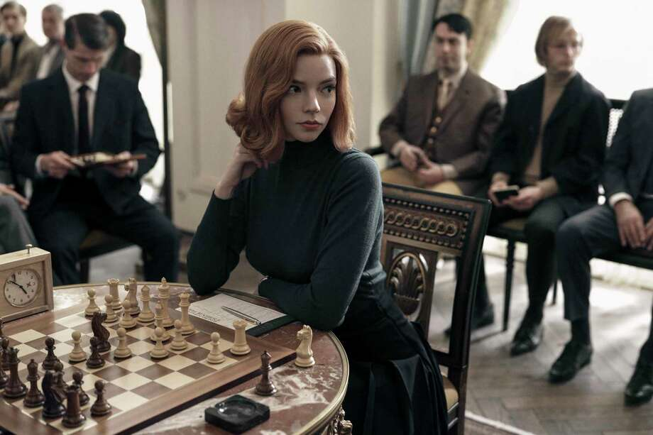 """""""The Queen's Gambit"""" is a limited series available on Netflix. The series follows the progress of a young chess champion during the 1960's. Photo: Netflix / Contributed Photo / © 2020 Netflix, Inc."""