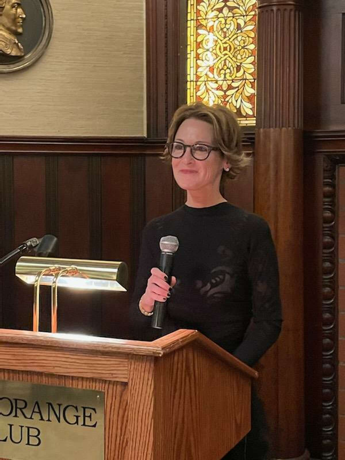 FILE. Shannon Older, 54, of Latham, was elected the first woman president of the Fort Orange Club on Nov. 5, 2020, and she was honored at that evening's annual meeting and dinner. (Provided)