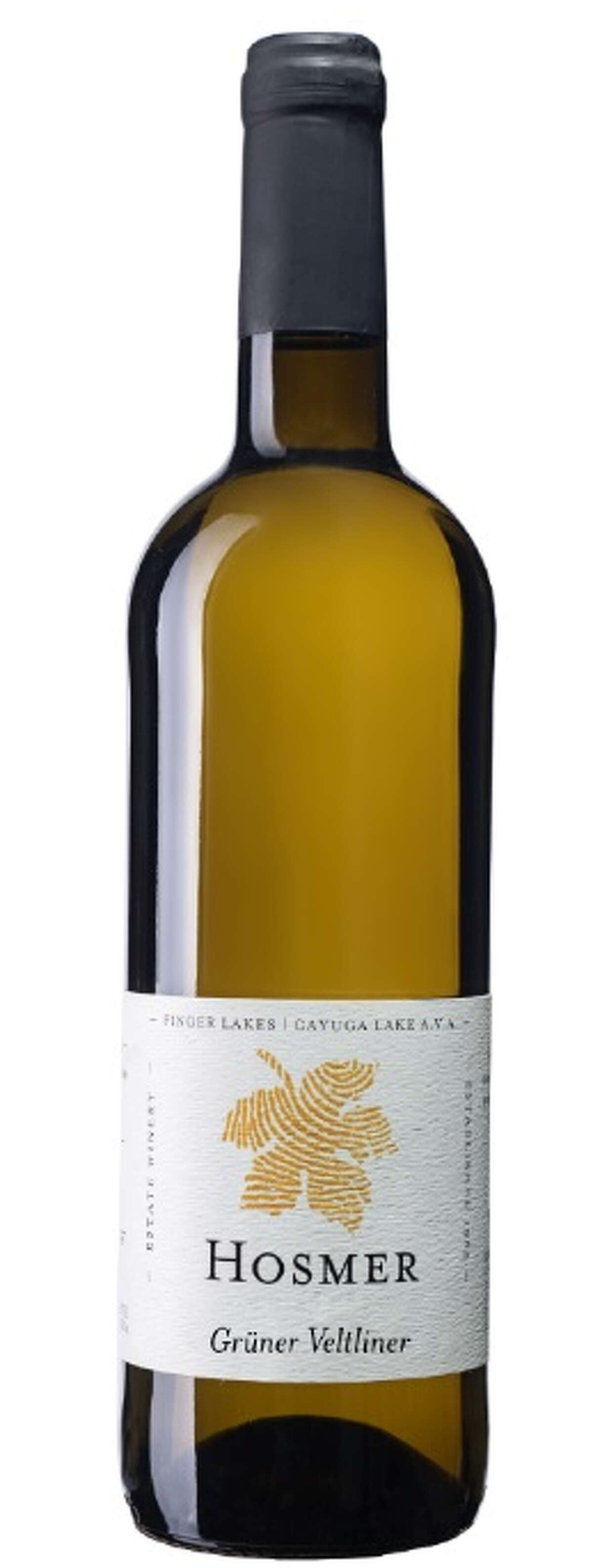 If you tend to drink French sauvignon blancs around the holidays, try a New York-based gruner veltliner, like this one from Hosmer Winery.