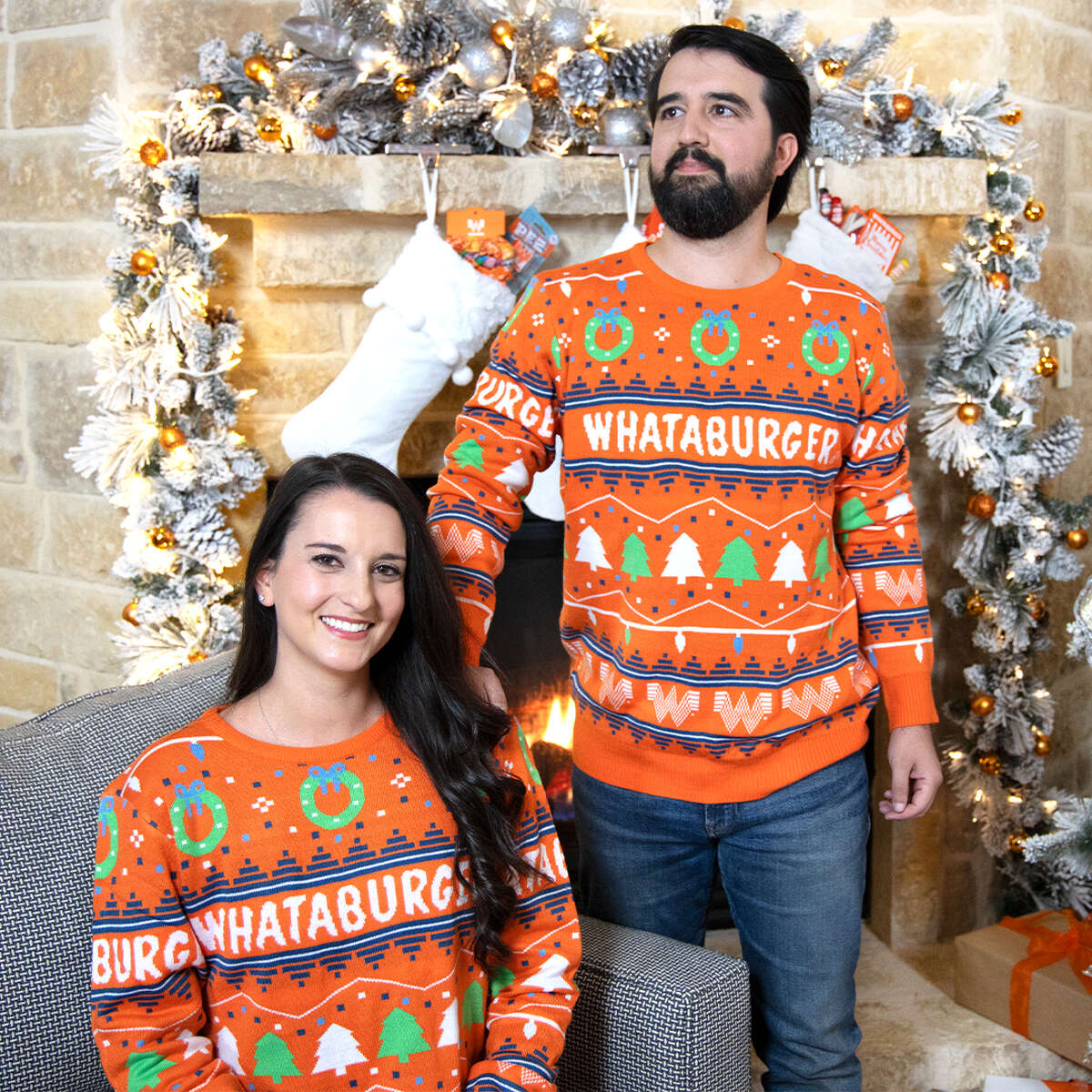 Whataburger's holiday sweater is here.