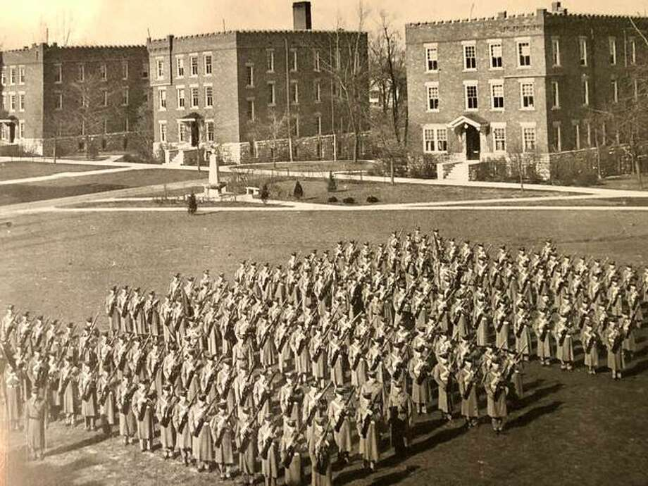 The Western Military Academy of Alton, seen in this file photo, is featured in a book now available for free download on Amazon.