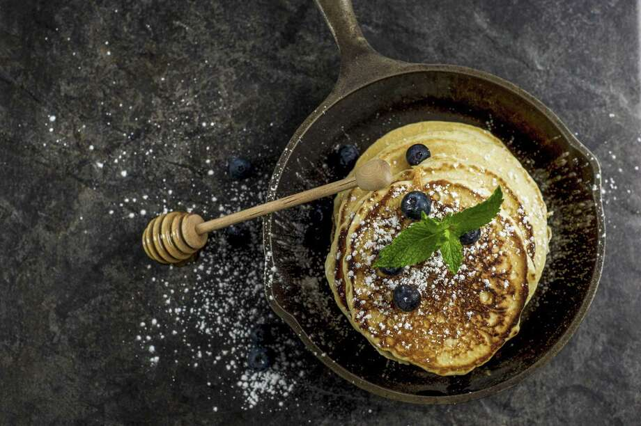 Blueberry pancakes make for a perfectly comforting dish in November. Photo: Metro Creative Connection / Contributed Photo