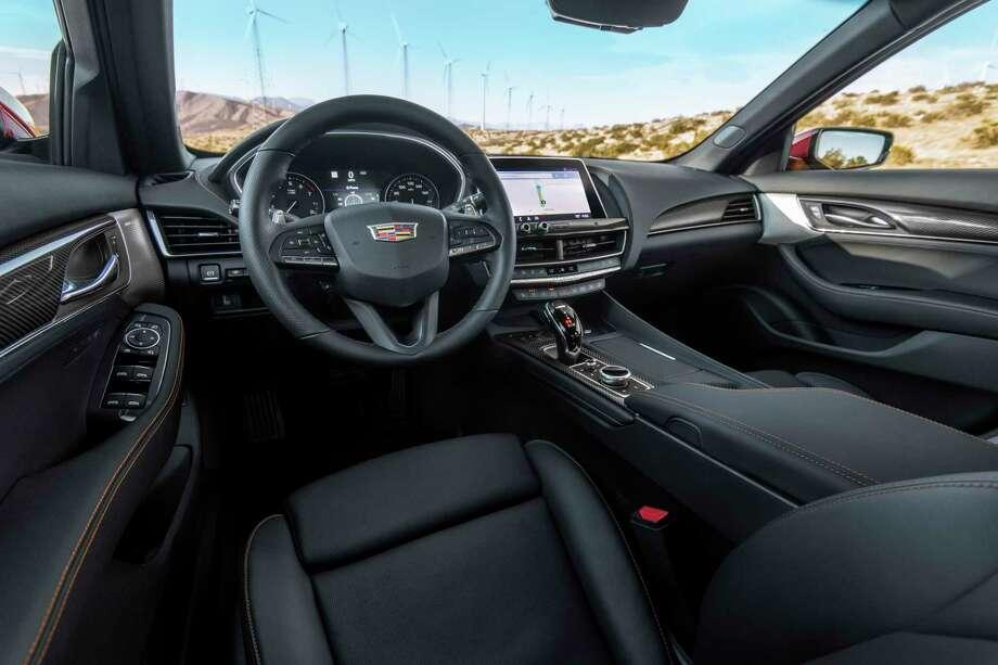 The 2020 Cadillac CT5-V has a 18 mpg city, 26 mpg highway fuel economy. Photo: Cadillac Pressroom / Cadillac/Walker / JESSICA LYNN WALKER