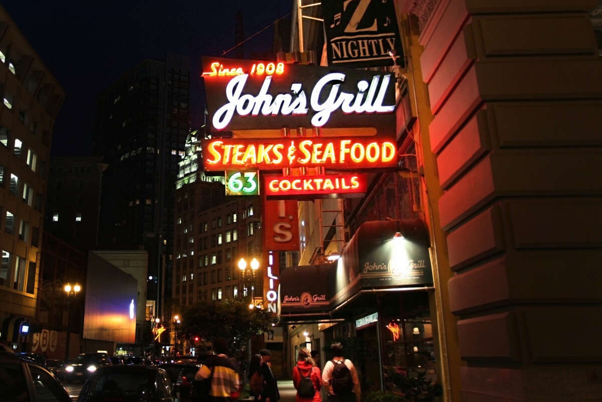 John's Grill at 63 Ellis St. has been a fixture of San Francisco since 1908, and is hoping to weather another round of shutdowns, including a move to limit restaurants to takeout only.