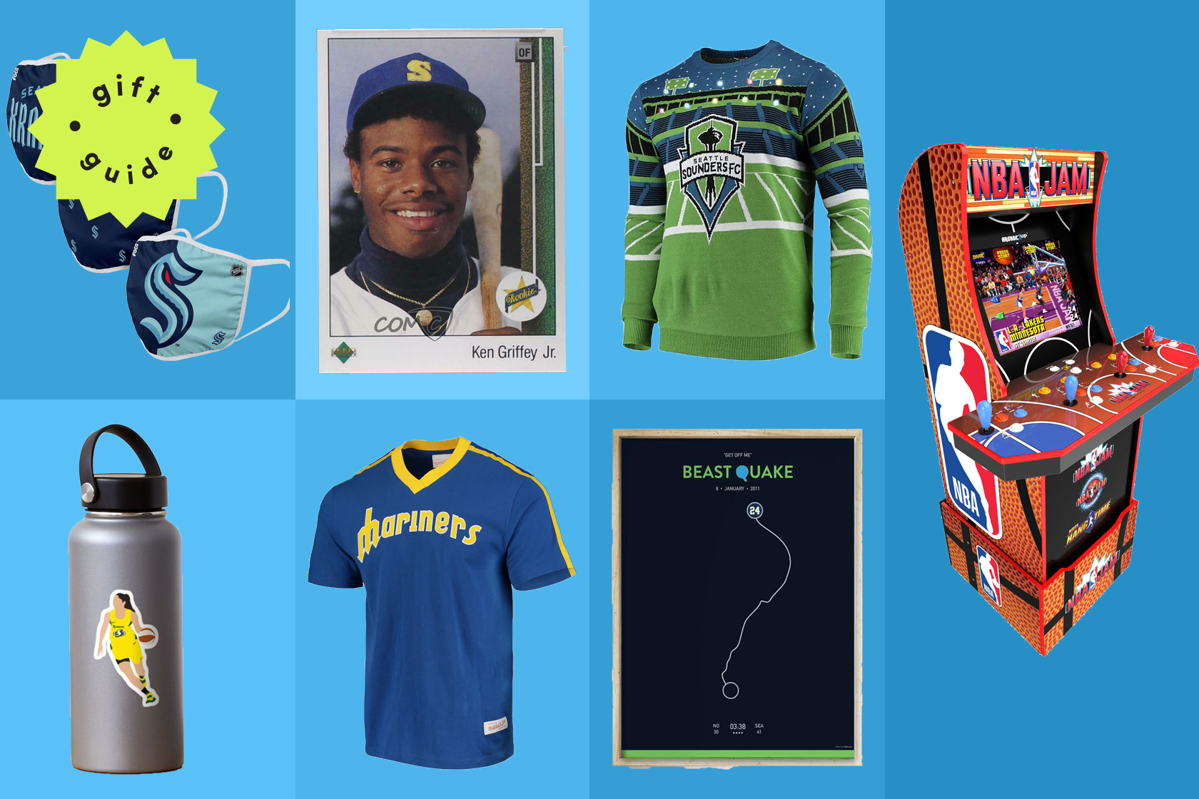 Gifts for Seattle sports fans that aren't just hats and T-shirts