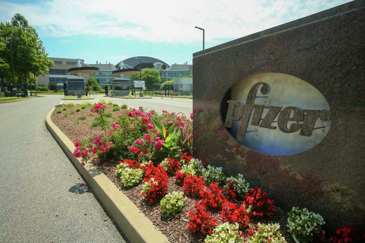 Pfizer's Research & Development Laboratories in Groton.