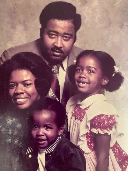 The Lawson family circa 1974: Catherine (clockwise from left), Jerry, Karen and Anderson.