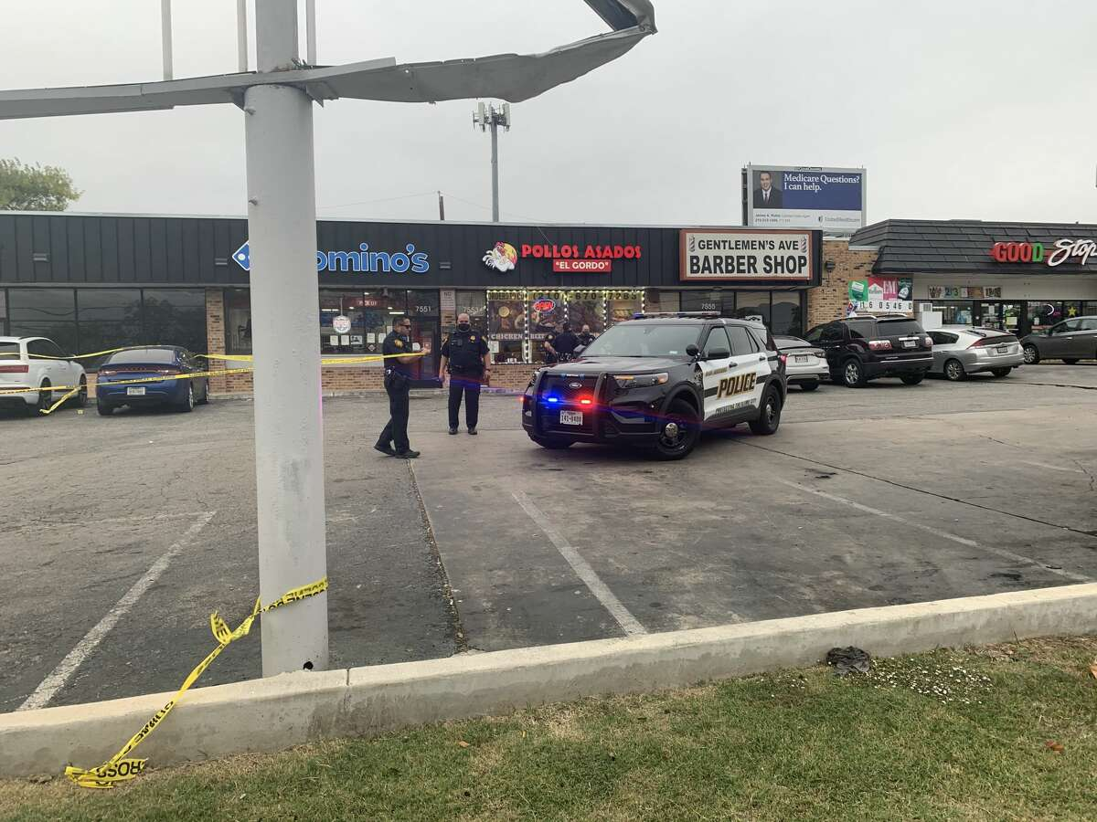 Man in critical condition after he was shot in the parking lot of a north side strip mall