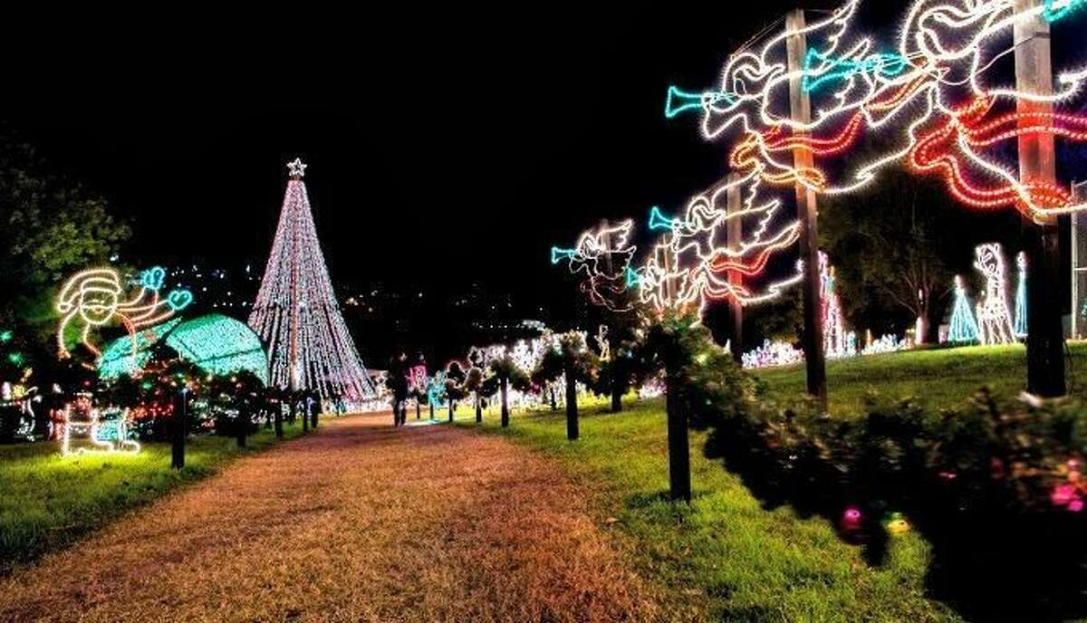 Walkway of Lights, Marble Falls.