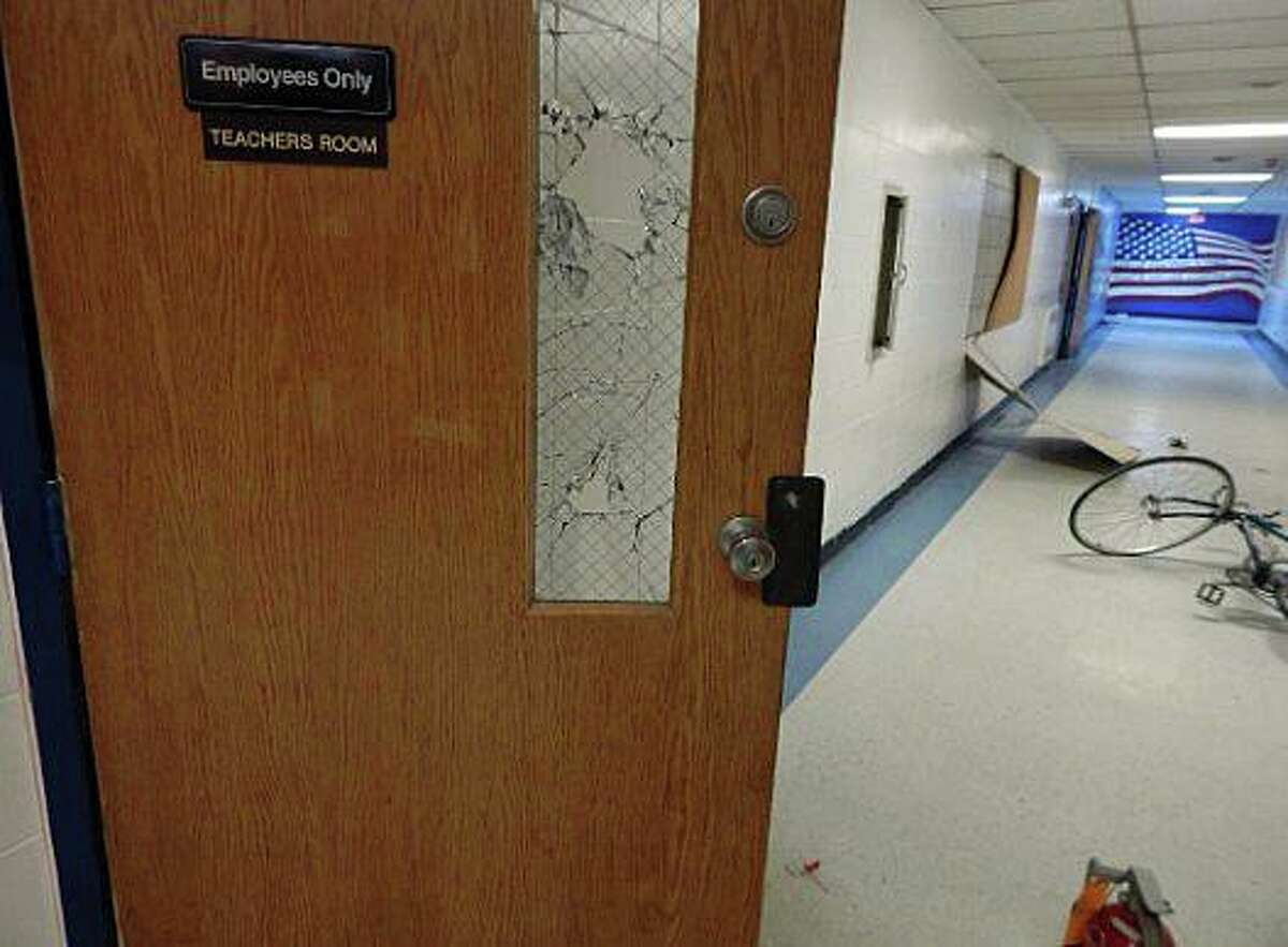 Officers are investigating a series of a series of burglaries and vandalism to the former Saint Gabriel Elementary School that has caused