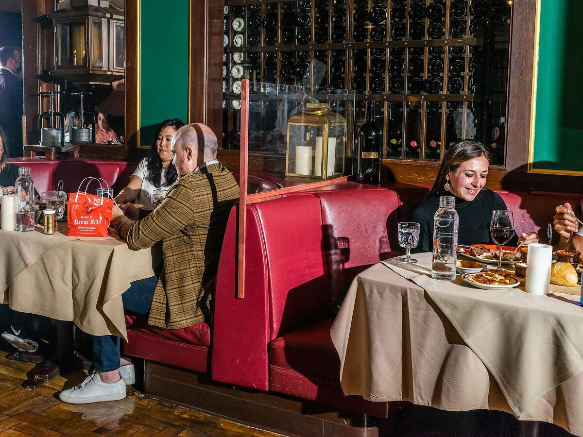 House of Prime Rib in San Francisco is resuming indoor dining at 25% capacity and says it is booked for three months.