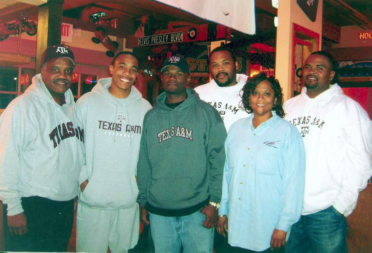 Thomas Randle became Lamar Consolidated ISD's superintendent of schools in 2001. He is pictured above with his wife Rubye and sons Gayland, Brian, Clayton and Taylor.