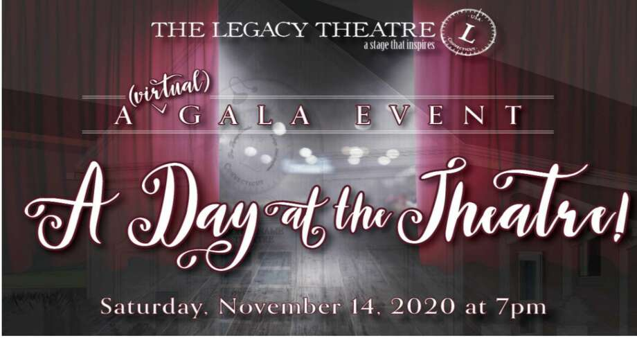 Branford's Legacy Theatre will hold an online 'Day at the Theatre' Nov. 14. Photo: Contributed Photo