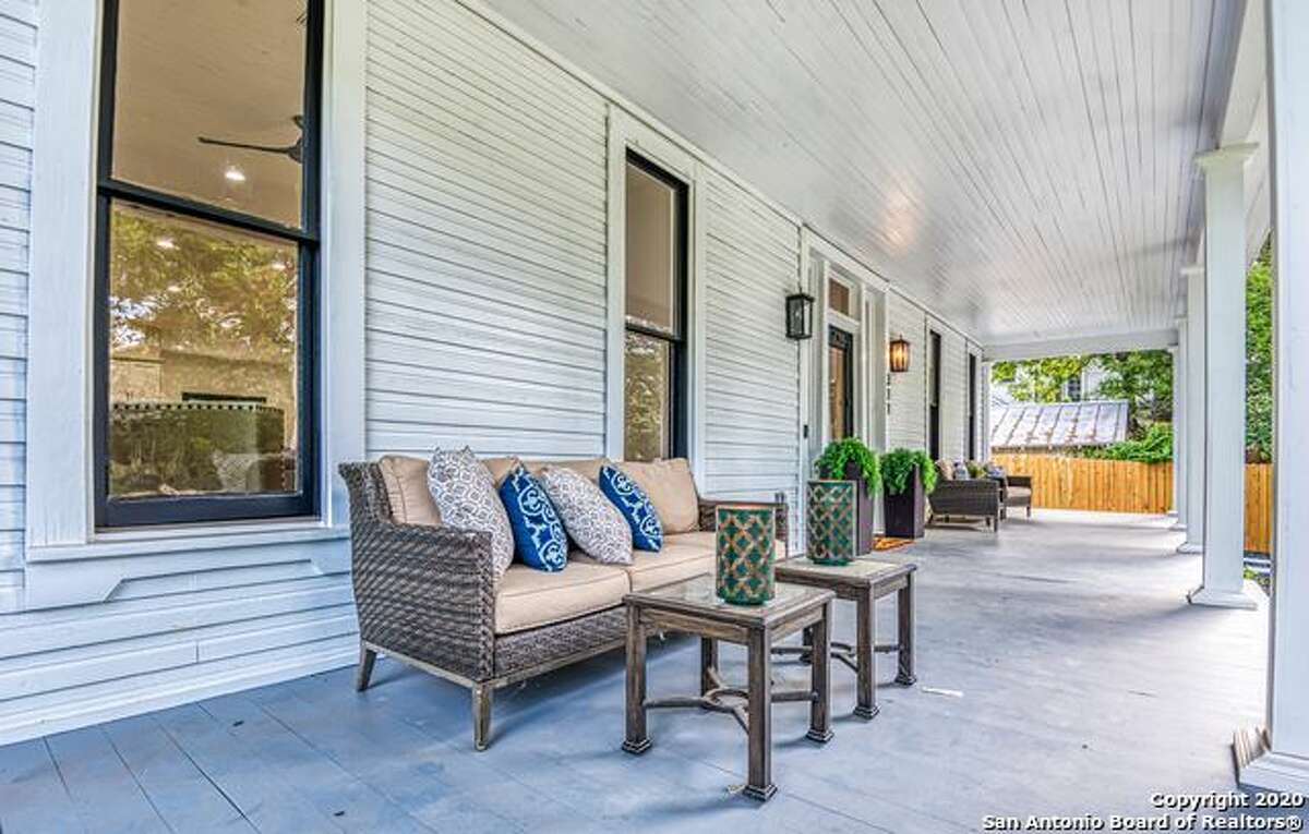 The listing for this remodeled 1892 home, built by Alfred Giles, invites buyers to