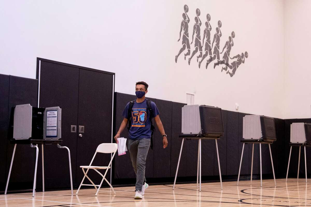 Thomas Namara was among only 6% of San Francisco's 443,000 voters who cast their ballots at one of the city's 588 polling places in last week's election, the elections chief says.