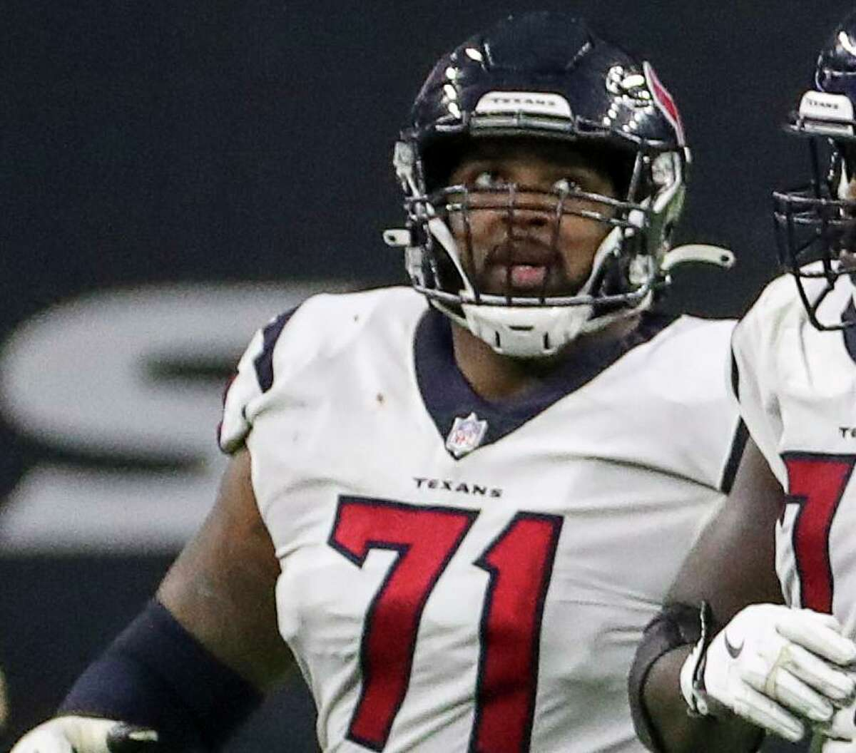 Through the Texans' first eight games this season, right tackle Tytus Howard has allowed two sacks and 24 quarterback pressures.