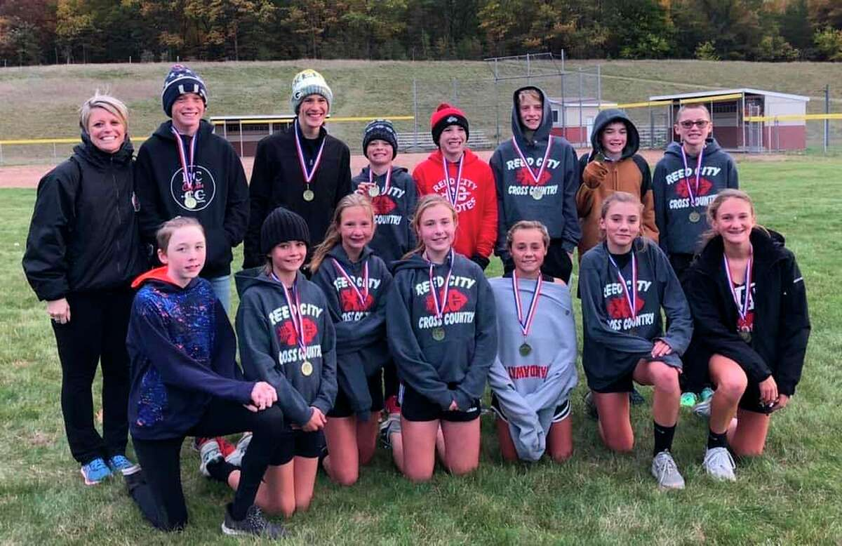 Reed City's middle school runners had another productive cross country season. (Courtesy photo)