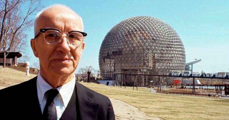 Buckminster Fuller inspired Alden B. Dow and the two corresponded through the years. (Photo provided/Alden B. Dow Home and Studio) / © DENNIS STOCK/MAGNUM PHOTOS