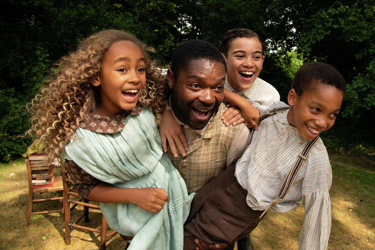 "(L-r) Keira Chansa, David Oyelowo, Reece Yates and Jordan A. Nash in ""Come Away."""