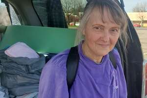Linda Longe has been living out of her car for nearly two years. (Chris Churchill/Times Union)