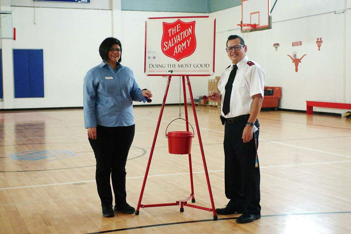 Luis and Marianne Villanueva say the Salvation Army needs volunteers to work four-hour shifts to collect donations in locations around Pasadena as part of the 2020 Rescue Christmas Red Kettle program.