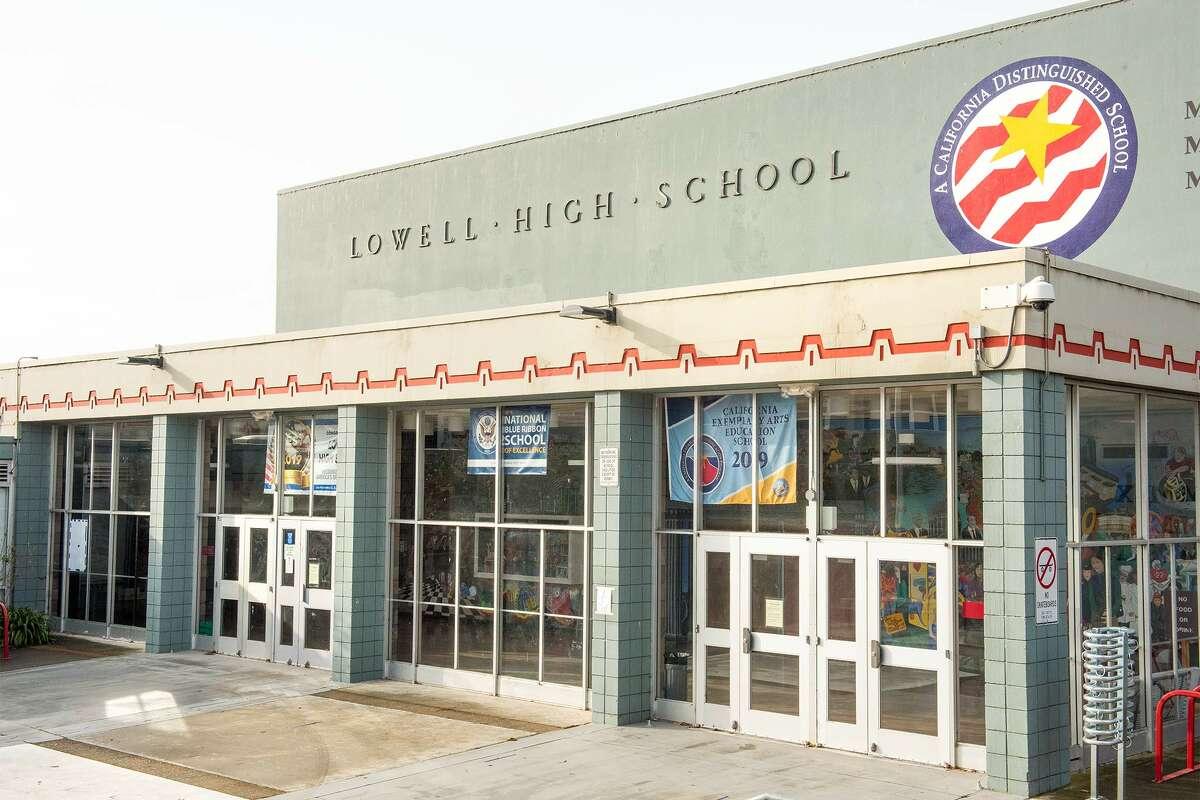 Lowell High School, November 11, 2020.