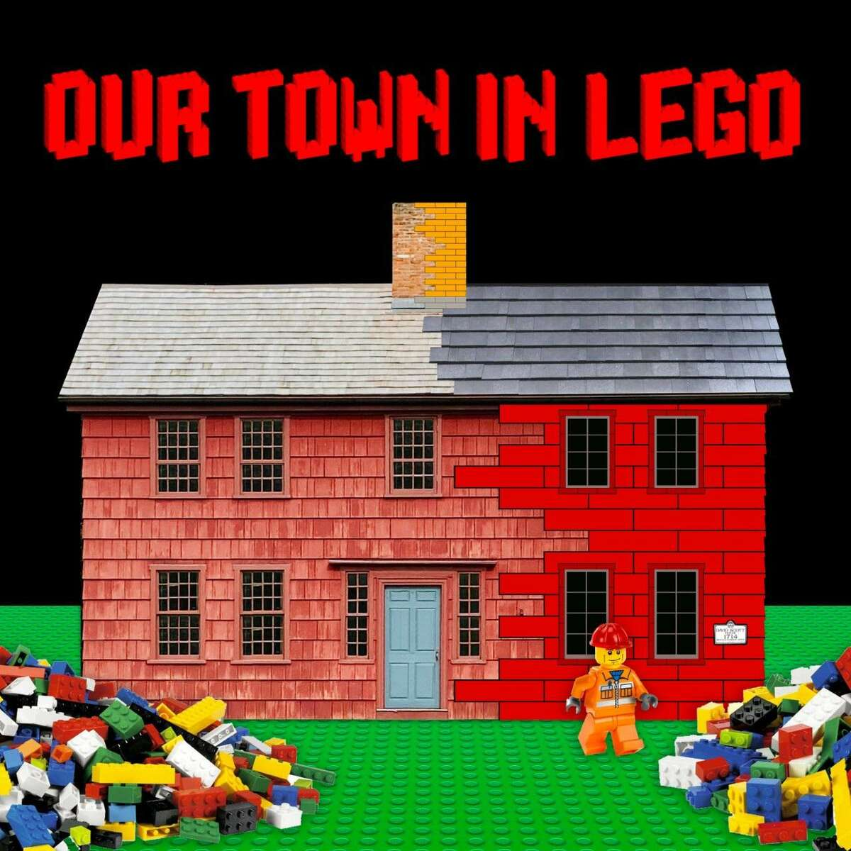 Historical images in lego world